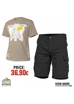 BDU SHORTS - HELIKON T-SHIRT OFFER PACKAGE #1