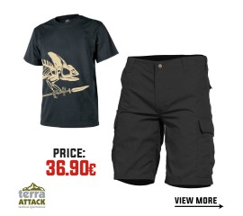 BDU SHORTS - HELIKON T-SHIRT OFFER PACKAGE #3