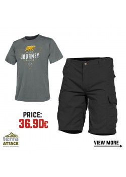 BDU SHORTS - HELIKON T-SHIRT OFFER PACKAGE #6