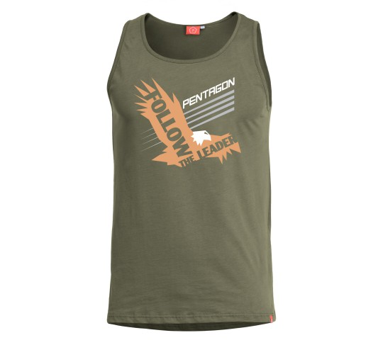 ASTIR TANK TOP T-SHIRT FOLLOW THE LEADER