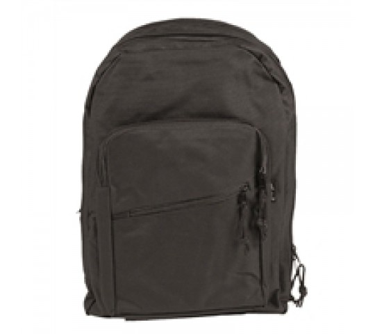 BLACK ′DAY PACK′ RUCKSACK