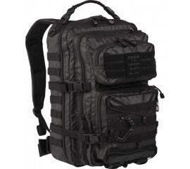TACTICAL BLACK BACKPACK US ASSAULT LARGE 36LT