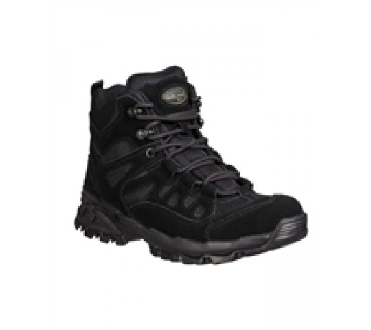 BLACK SQUAD BOOTS 5 INCH
