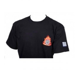 GREEK FIREFIGHTERS T-SHIRT - GREEK FORCES