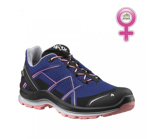 HAIX Black Eagle Adventure 2.1 GTX Low Women Indigo - Peach
