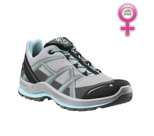 HAIX Black Eagle Adventure 2.1 GTX Low Women Grey - Mint