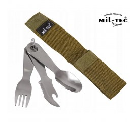 EATING UTENSIL STAINLESS STEEL W.POUCH