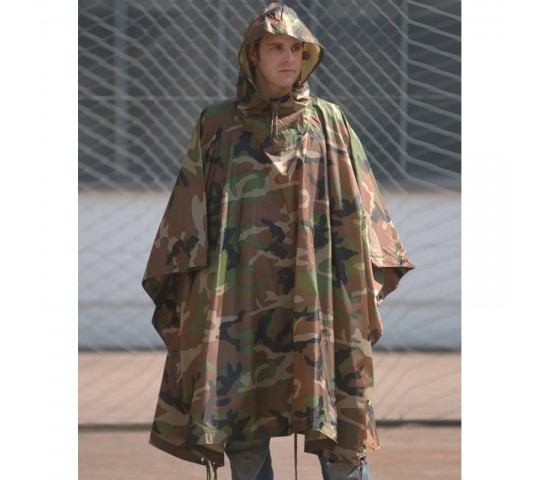 RIPSTOP WET WEATHER PONCHO