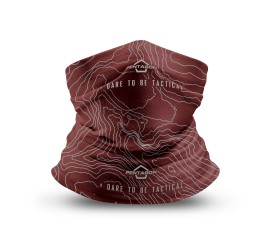 SKIRON TOPOGRAPHIC MAP K14013-TM MAROON RED