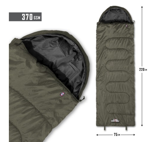 MAJOR SLEEPING BAG D19002 - TAC MAVEN