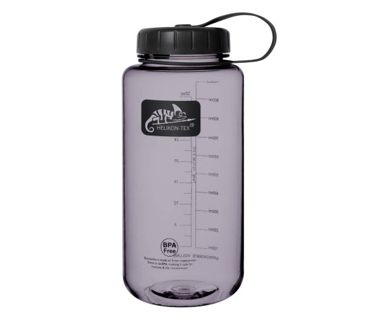 TRITAN™ BOTTLE WIDE MOUTH (1 LITER) - SMOKED - HELIKON TEX