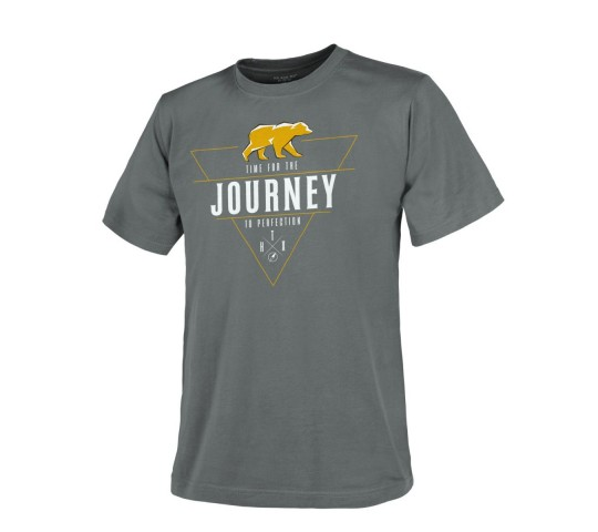 T-SHIRT (JOURNEY TO PERFECTION) - SHADOW GREY