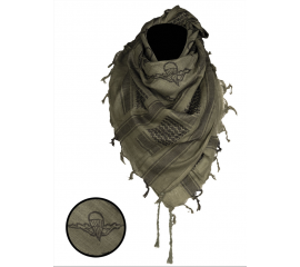 OD/BLACK SHEMAGH SCARF ′PARATROOPER′